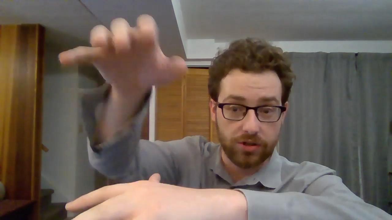 Joe Roessler Piano Face remote teaching shot
